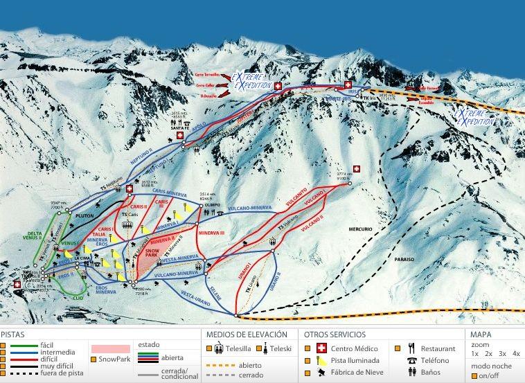 ski snowboard week las lenas grupal amigos familias706