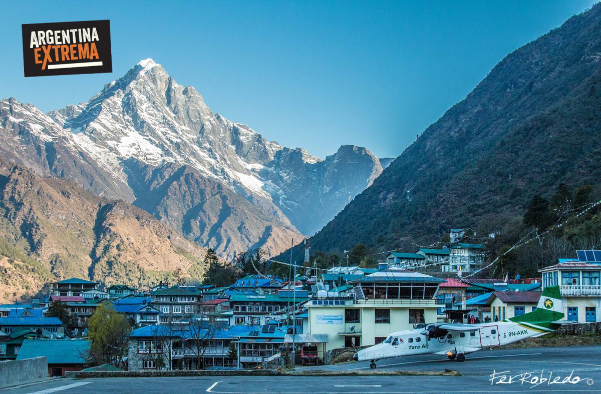 Aeropuerto de Lukla - Inicio del Trekking al Everest