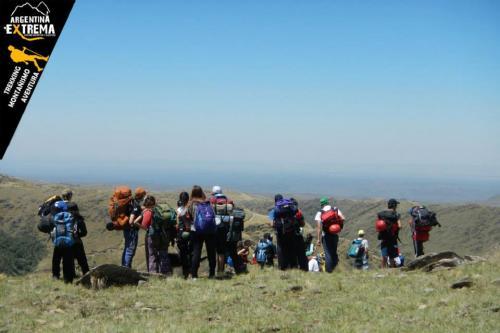 trekking cerro aspero pueblo escondido 2