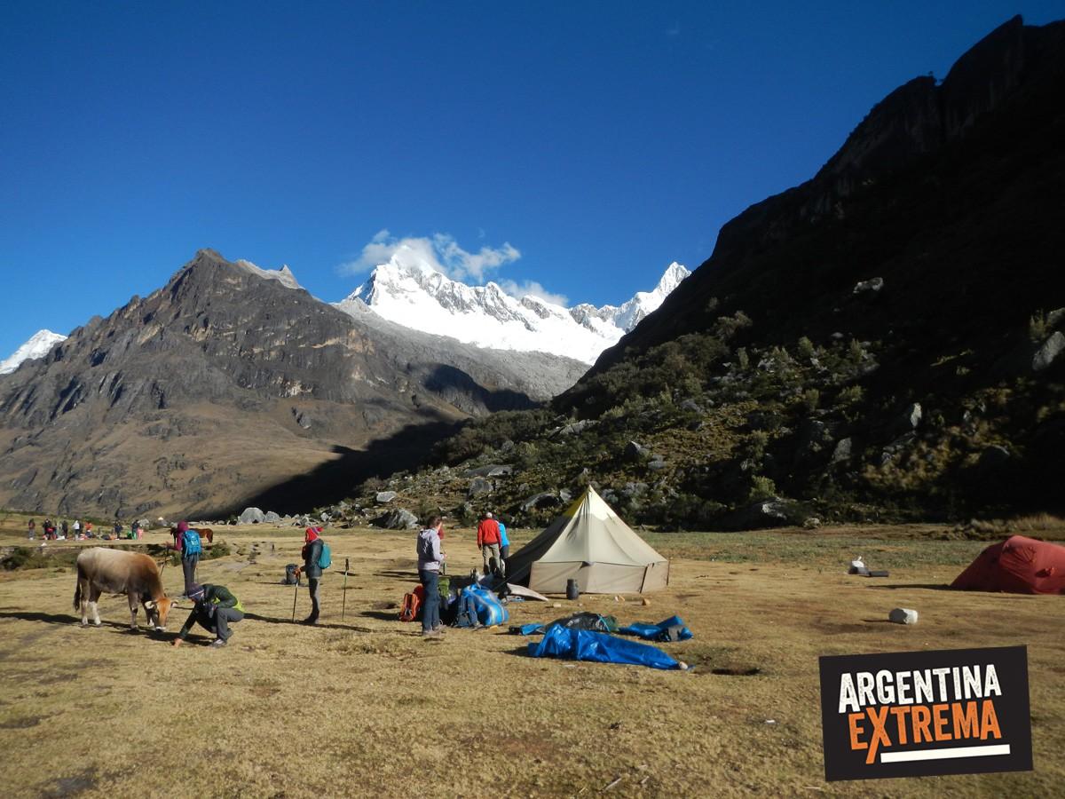 trekking cordillera blanca peru llanganuco santa cruz 137