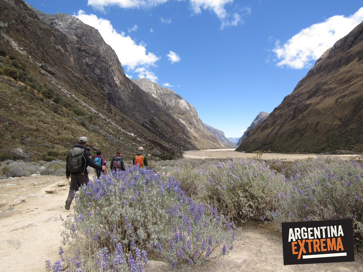 trekking cordillera blanca peru llanganuco santa cruz 257