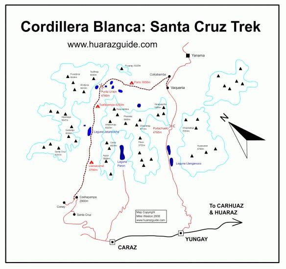 trekking cordillera blanca peru618