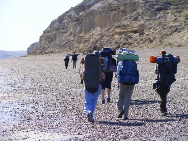 trekking costero a punta ninfas puerto madryn300