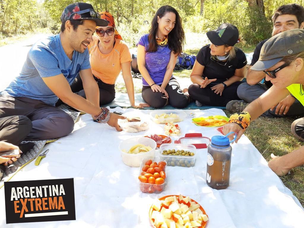 comida y picnic trekking