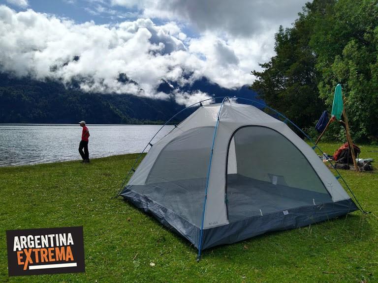 campamento Laguna Cayuthue