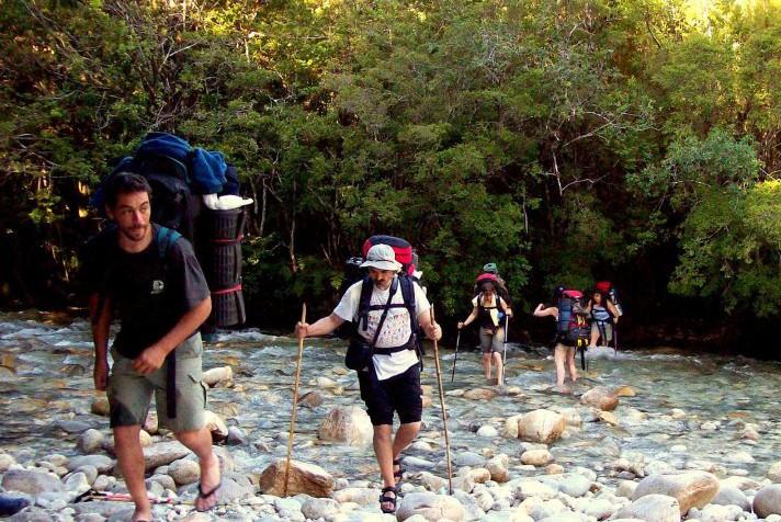 trekking doble cruce de los andes patagonia168