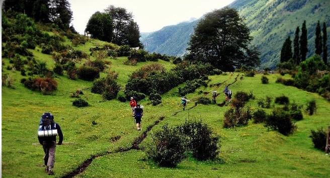 trekking doble cruce de los andes patagonia572