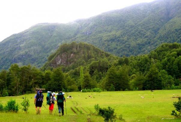 trekking doble cruce de los andes patagonia889
