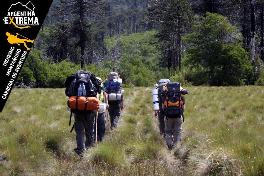 trekking en la region de pehuenia neuquen240