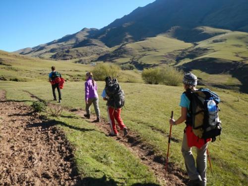 trekking grupal