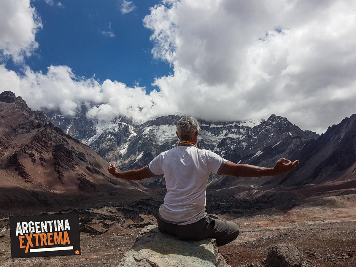 trekking largo cara oculta de aconcagua cara este a plaza argentina 590