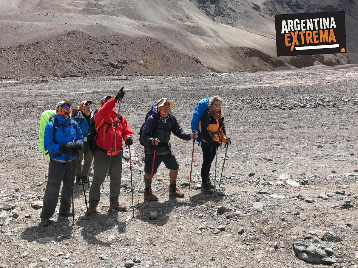 trekking largo cara oculta de aconcagua cara este a plaza argentina 925