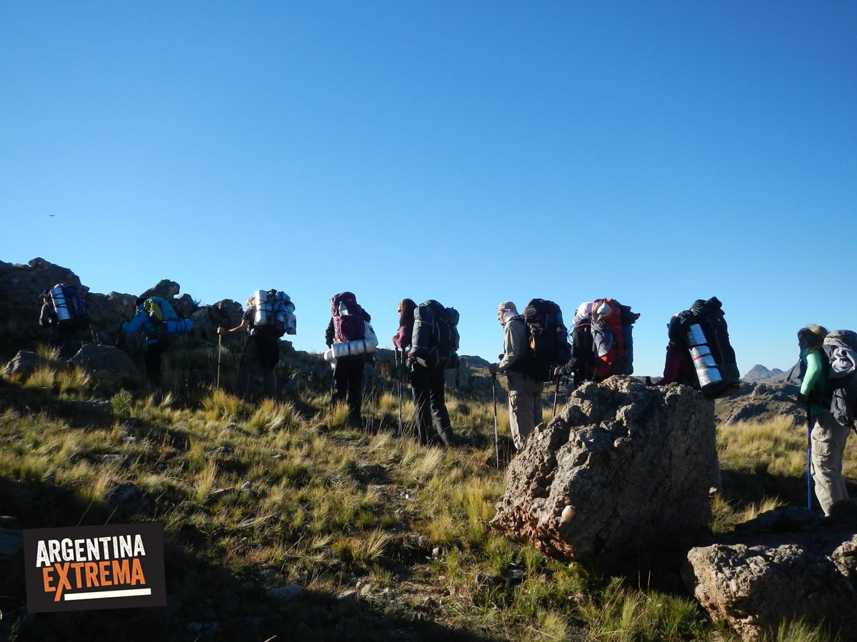 trekking ruta del oro san luis