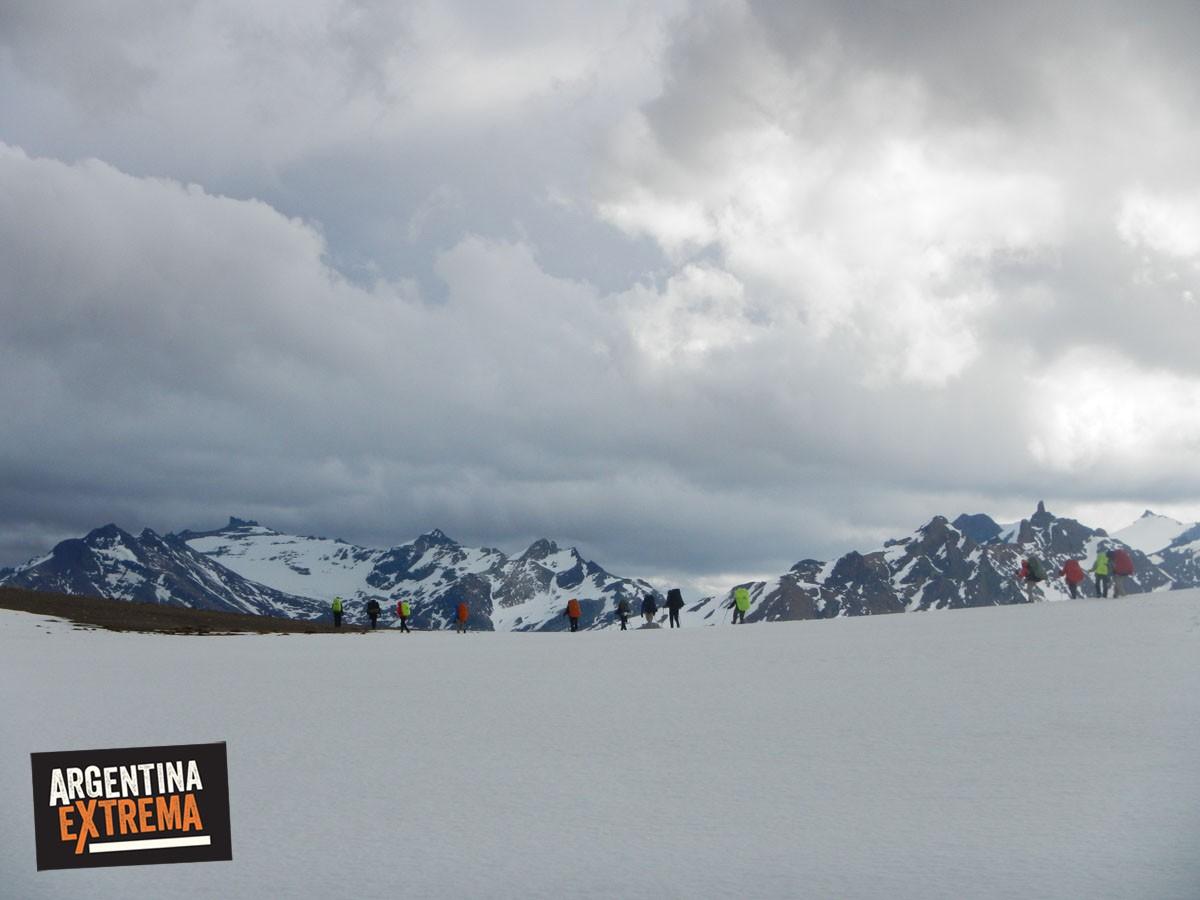 trekking en nieve