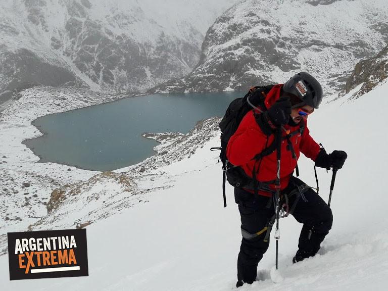 trekking ascenso al cerro Madsen - El Chalten