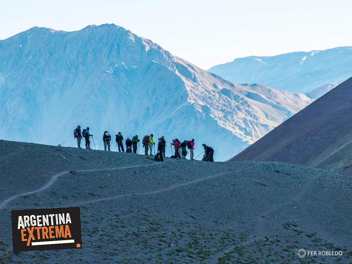 trekking vuelta al cerro penitentes mendoza 586
