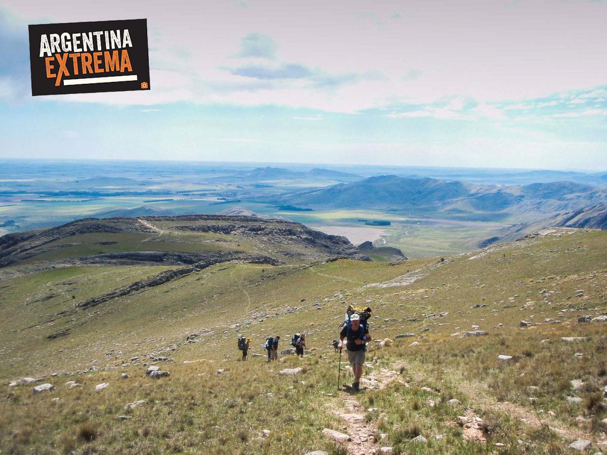 tres picos sierra de la ventana trekking 001