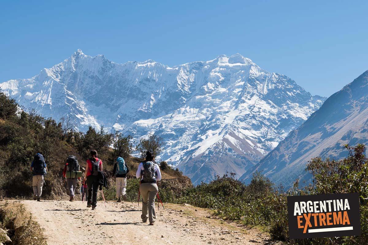vacaciones de invierno trekking a machu picchu por salkantay cusco peru 977