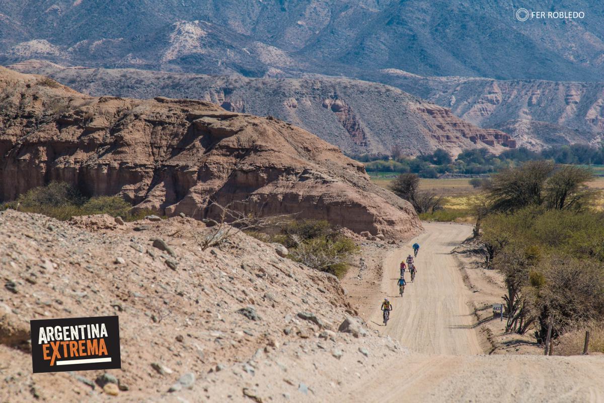 Camino a Angastaco - Ruta 40 - MTB