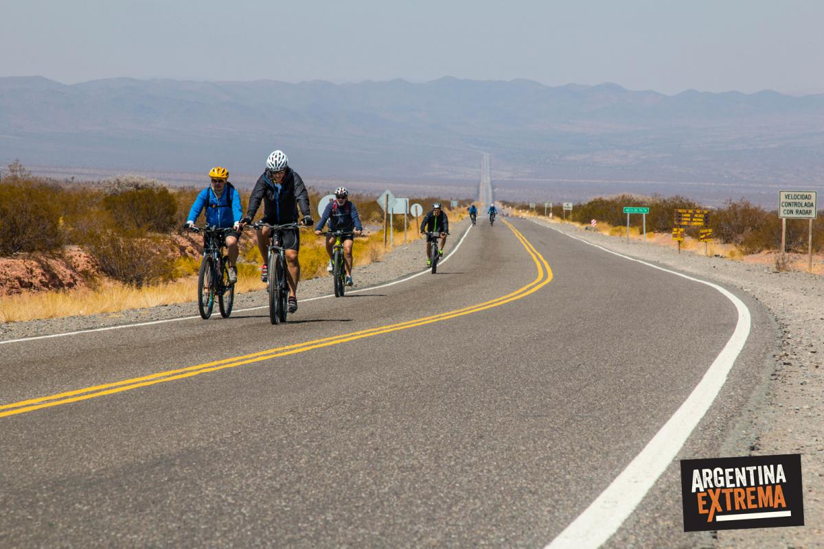 Cruce de la Recta del Tim Tin - Cruce Parque Nacional los Cardones - Mountainbike