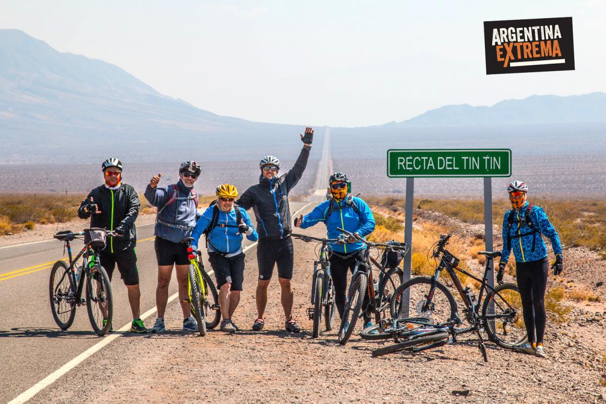 Recta del Tim Tin - Cruce Parque Nacional los Cardones - Cicloturismo