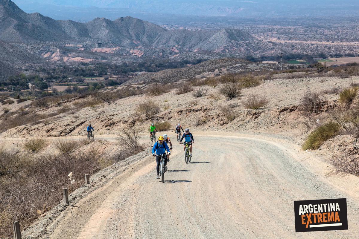 Ruta 40, de Seclantas a Molinos en Montainbike